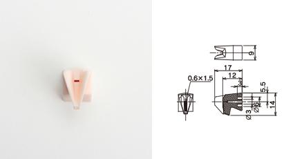 丸ウ製陶所 糸道:紡糸機械用ガイド(OJ160R)