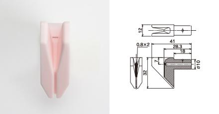 丸ウ製陶所 糸道:紡糸機械用ガイド(OJ621F)