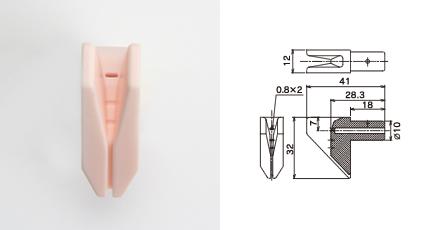 丸ウ製陶所 糸道:紡糸機械用ガイド(OJ621V)